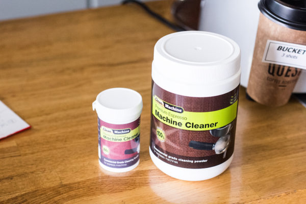 Clean Machine - Machine Cleaner available in 100g and 1kg sizes.
