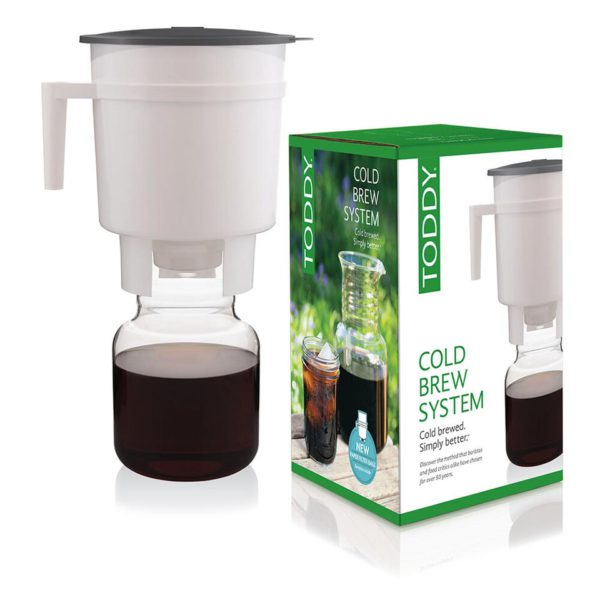 Toddy cold brew system for coffee and tea